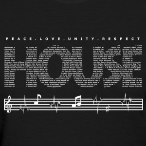 EthanX- PLUR House Music - Women's T-Shirt