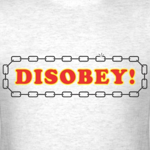 disobey_logo T-Shirts - Men's T-Shirt
