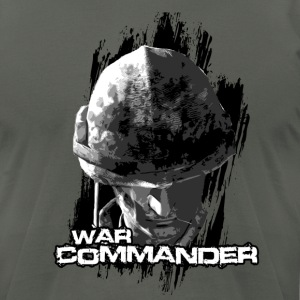 war commander T-Shirts - Men's T-Shirt by American Apparel