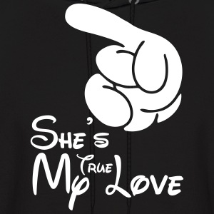 She's My True Love Hoodies - Men's Hoodie