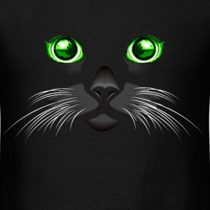 green Eyed Cat - Men's T-Shirt