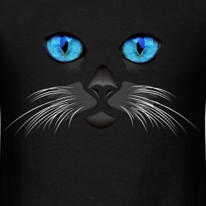 Blue Eyed Cat - Men's T-Shirt