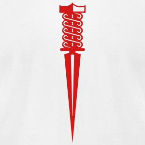 dagger (1c) T-Shirts - Men's T-Shirt by American Apparel