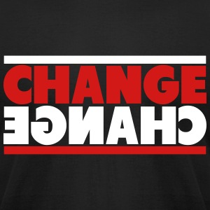 Change Mirror T-Shirts - Men's T-Shirt by American Apparel