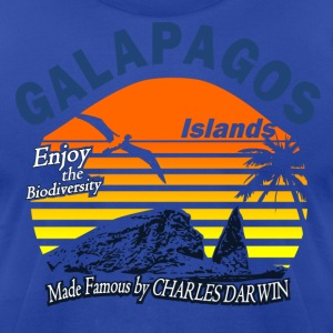 Galapagos Islands - Men's T-Shirt by American Apparel