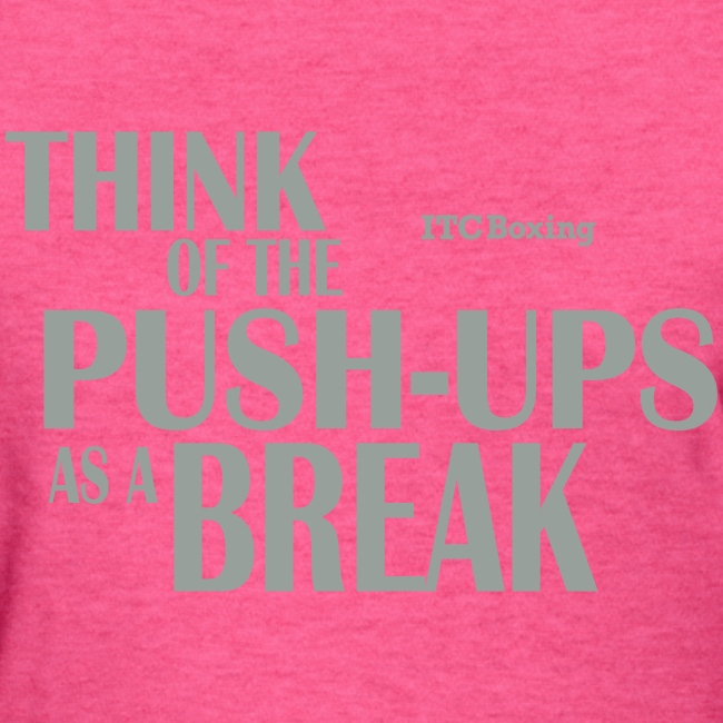 'Tude T: Think of the Push-Ups as a Break