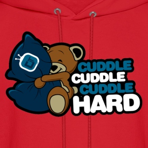 Cuddle Hard Hoodies - Men's Hoodie