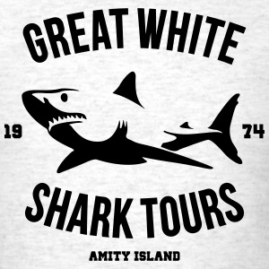 Great White Shark Tours - Men's T-Shirt