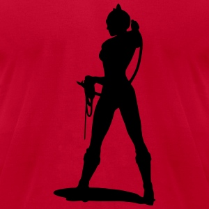 Sexy Bondage - Woman with whip T-Shirts - Men's T-Shirt by American Apparel