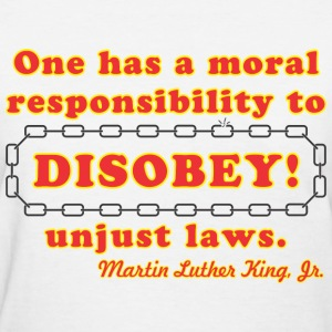 disobey_king Women's T-Shirts - Women's T-Shirt