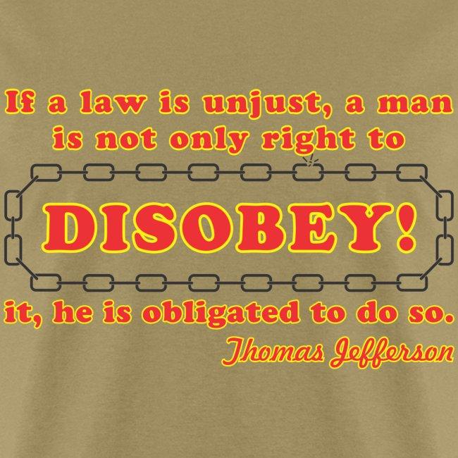 disobey jefferson