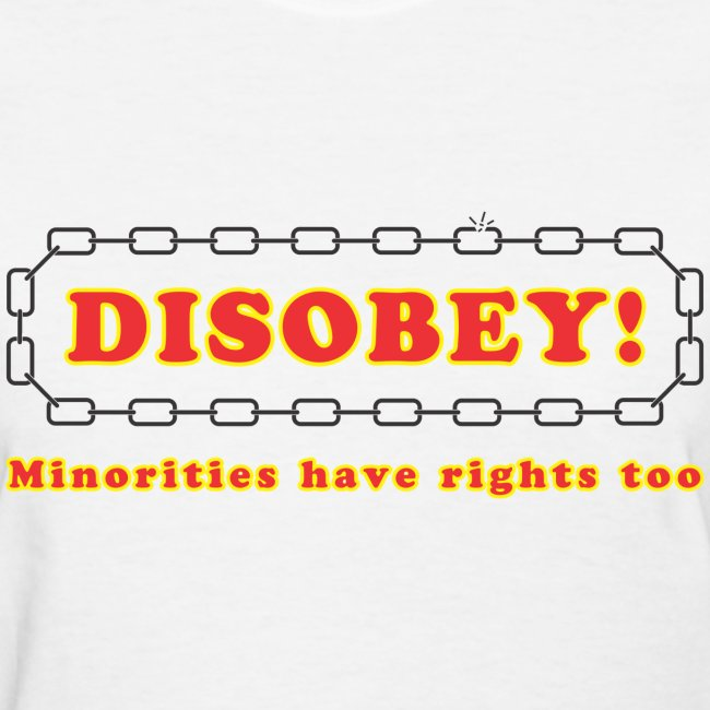 disobey minority rights f