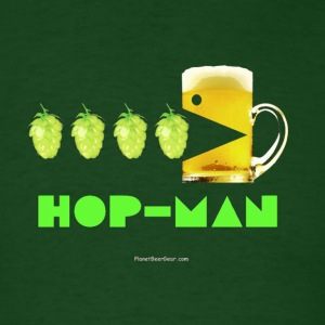 Hop Man Men's T-Shirt (Double Sided) - Men's T-Shirt