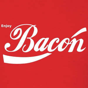 Enjoy  Bacon T-Shirts - Men's T-Shirt