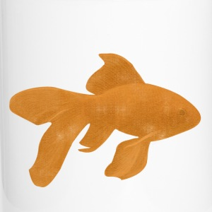 Fancy Orange Goldfish - Travel Mug