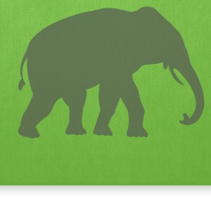 Big Fancy Elephant - Tote Bag