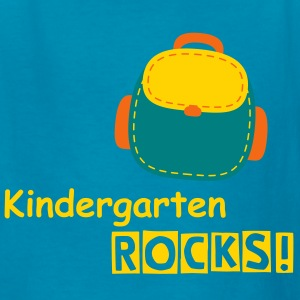 Kindergarten rocks - back to school - Kids' T-Shirt