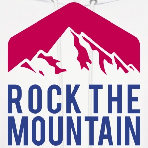 ROCK THE MOUNTAIN Hoodies - Men's Hoodie