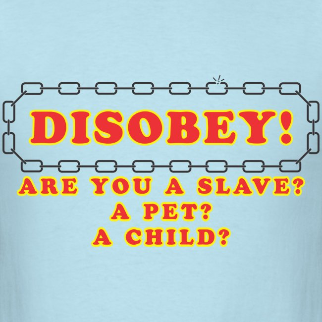 disobey slave pet child