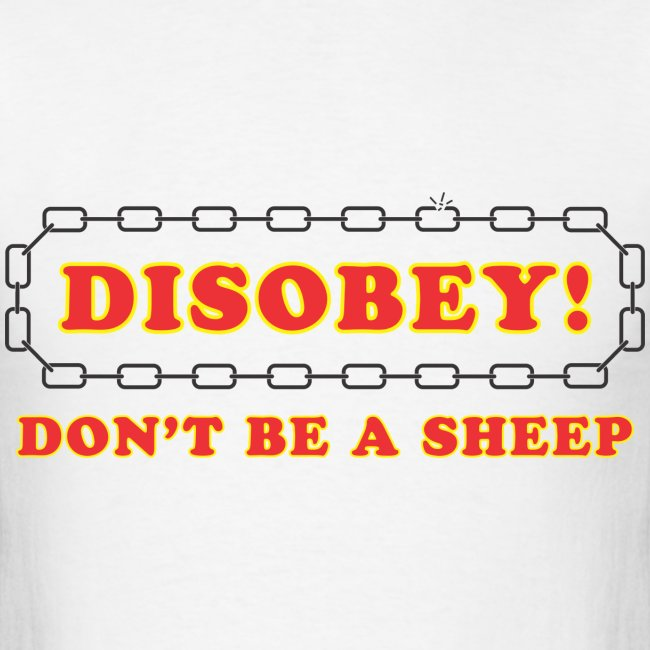 disobey sheep