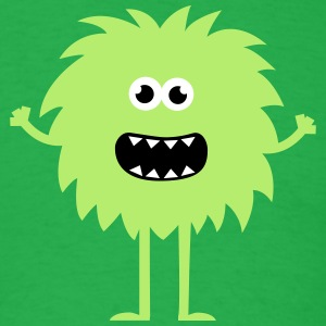 Funny Cute Monster T-Shirts - Men's T-Shirt