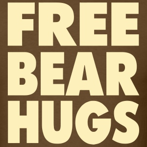 FREE BEAR HUGS T-Shirts - Men's T-Shirt