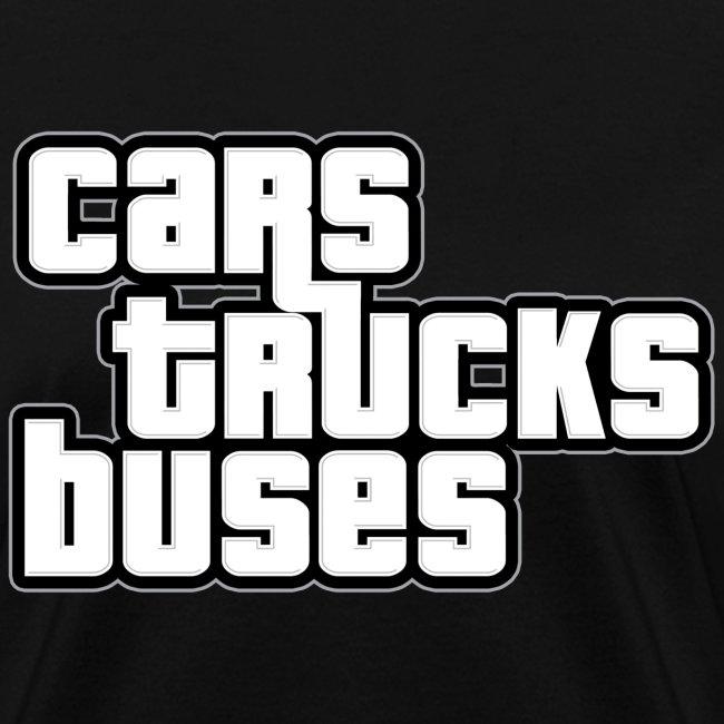 Cars Trucks Buses Ladies' T-shirt