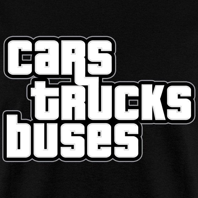 Cars Trucks Buses Men's T-shirt