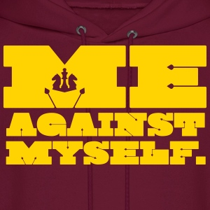Me Against Myself Hoodies - Men's Hoodie