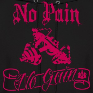 No Pain No Gain Iron  Hoodies - Men's Hoodie