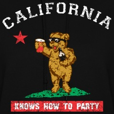 Young California Knows To Party Hoodies