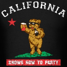 Young California Knows To Party T-Shirts
