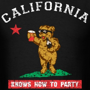 Young California Knows To Party T-Shirts - Men's T-Shirt