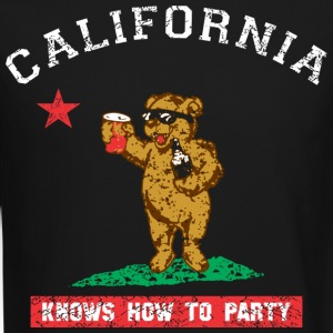 Young California Knows To Party Long Sleeve Shirts - Crewneck Sweatshirt