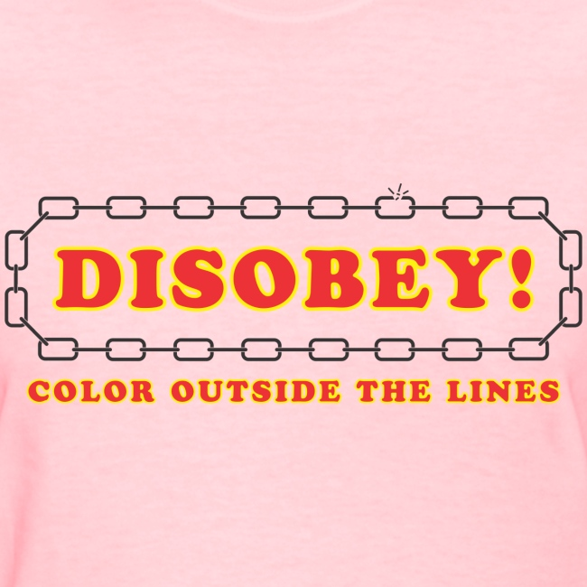 disobey outside lines f