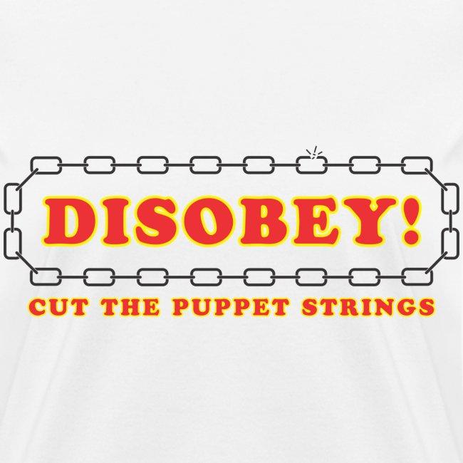 disobey cut strings f