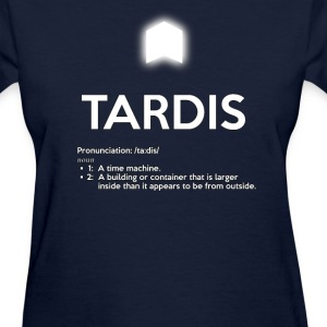 TARDIS OED DEFINITION - Women's T-Shirt