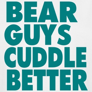 BEAR GUYS CUDDLE BETTER T-Shirts - Men's Tall T-Shirt