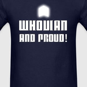 WHOVIAN AND PROUD! - Men's T-Shirt