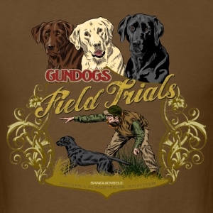 gundogs_field_trials T-Shirts - Men's T-Shirt