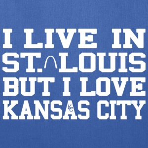 I Live in St. Louis But I Love Kansas City Bags & backpacks - Tote Bag