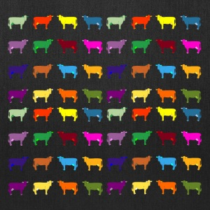 colorful cows Bags & backpacks - Tote Bag