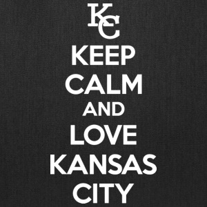 Keep Calm and Love Kansas City Bags & backpacks - Tote Bag