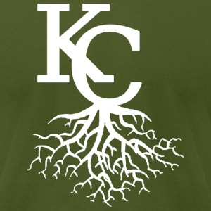 KC Roots T-Shirts - Men's T-Shirt by American Apparel