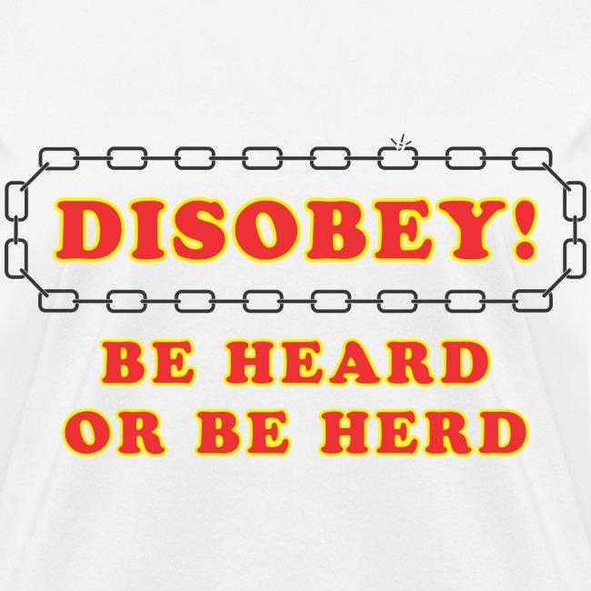 Disobey Heard f