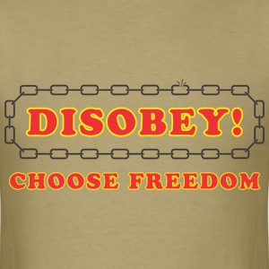 disobey_freedom T-Shirts - Men's T-Shirt