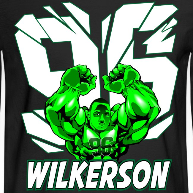 Wilkerson Hulk Mens Long Sleeve T Shirt