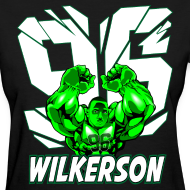 Design ~ Wilkerson Hulk Womens T Shirt