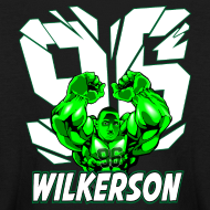 Design ~ Wilkerson Hulk Kids Long Sleeve T Shirt