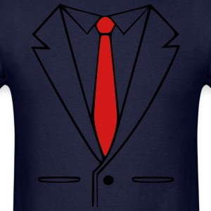 suit and tie T-Shirts - Men's T-Shirt